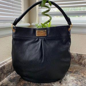 Marc Jacobs Black Pebbled Leather Shoulder BAG